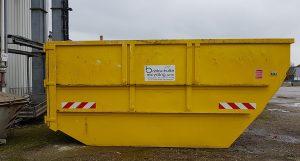 Absetzcontainer geschlossen