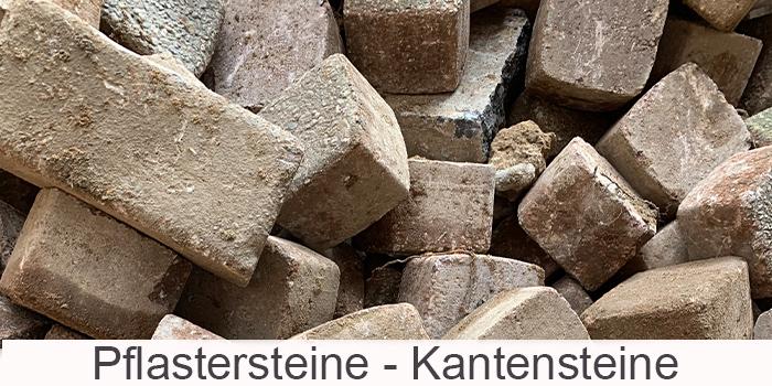 Plaster- und Kantensteine
