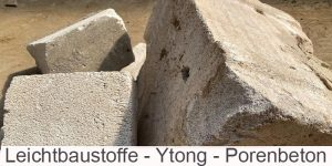 Leichtbaustoffe Gasbeton Ytong Porenbeton
